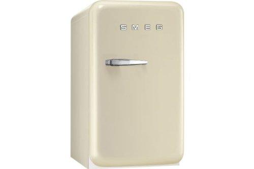Smeg FAB5RP Standgerät Minikühlschrank Kühlgerät Creme Beige Retro freistehend