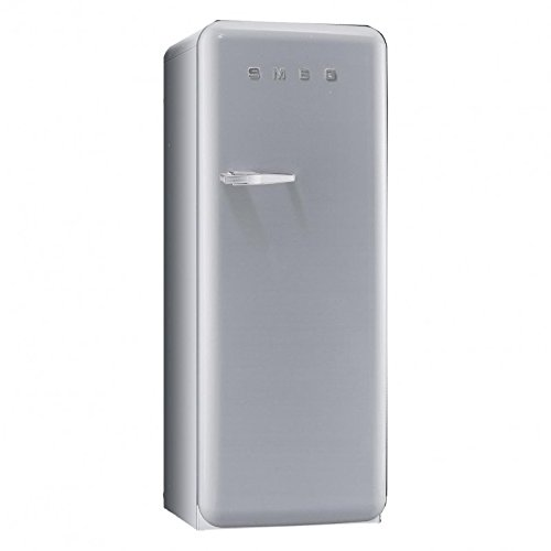 Smeg SMEG FAB28 Standkühlschrank, silber lackiert Rechtsanschlag 66x60x151cm
