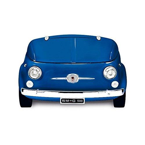 Smeg SMEG Fiat 500 Minibar/ Kühltruhe, blau 125x80x83cm Fiat500 Retro-Design Energieeffizienzklasse A+