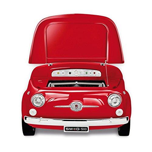 Smeg SMEG Fiat 500 Minibar/ Kühltruhe, rot 125x80x83cm Fiat500 Retro-Design Energieeffizienzklasse A+