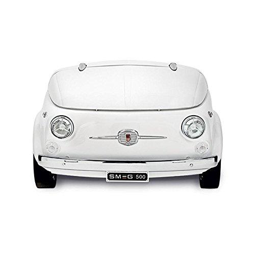 Smeg SMEG Fiat 500 Minibar/ Kühltruhe, weiß 125x80x83cm Fiat500 Retro-Design Energieeffizienzklasse A+
