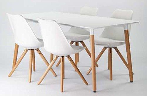 Stuhl scandinavia loungestuhl mit schalensitz in schwarz oder wei farbeweiss 0 4 - Stuhl mit namen ...