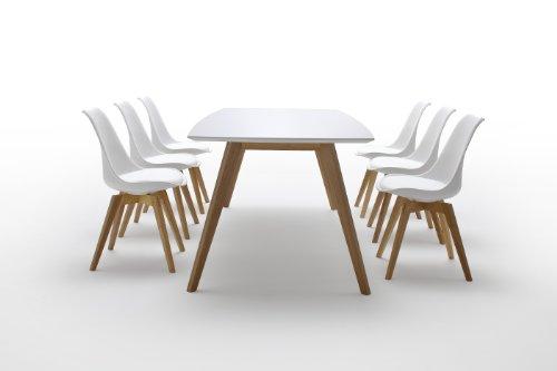 tenzo 2180 001 bess designer esstisch 75 x 185 x 95 cm wei eiche 0 1 esszimmerst hle. Black Bedroom Furniture Sets. Home Design Ideas