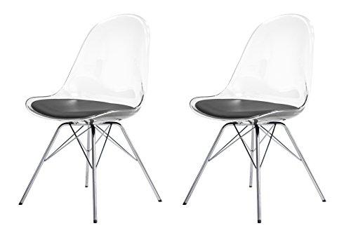 tenzo 3300 800 tequila 2 er set designer st hle becky 82. Black Bedroom Furniture Sets. Home Design Ideas