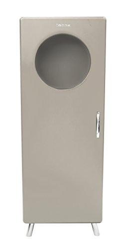 Tenzo 4901-083 Cobra Designer Halbvitrine, 150 x 56 x 43 cm, MDF lackiert, warm grey