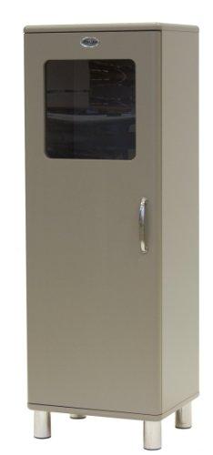 Tenzo 5111-019 Malibu - Designer Halbvitrine 143 x 50 x 41 cm, MDF lackiert, macciato