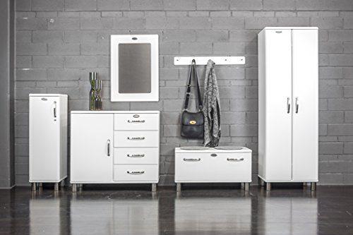 tenzo 5121 033 malibu designer schrank niedrig abschlie bar 111 x 35 x 34 cm mdf lackiert. Black Bedroom Furniture Sets. Home Design Ideas