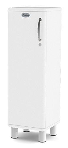 Tenzo 5121-005 Malibu Designer Schrank niedrig, abschließbar, 111 x 35 x 34 cm, MDF lackiert, weiß