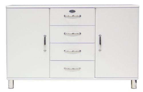 Tenzo-5236-005-Malibu-Designer-Sideboard-92-x-146-x-41-cm-MDF-lackiert-wei-0