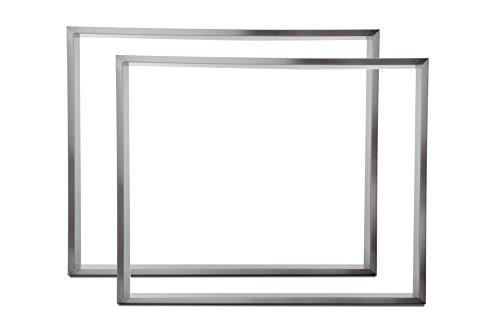 Tischgestell Edelstahl TR80 900mm breit Tischuntergestell Tischkufe Kufengestell
