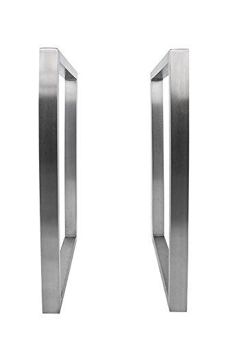 Tischgestell Edelstahl TRG500 Tischuntergestell Tischkufe Kufengestell 500 breit