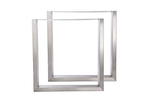 tischgestell edelstahl tu100 900mm breit tischuntergestell tischkufe kufengestell. Black Bedroom Furniture Sets. Home Design Ideas