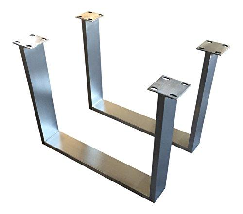 Tischuntergestell Couchtisch Edelstahl Tischgestell Couchtischgestell CUG 303