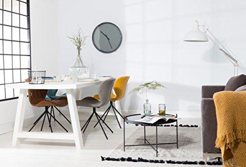 Zuiver OMG Stühle Kunstleder braun