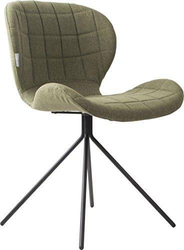 Zuiver Stuhl Esszimmerstuhl OMG grün