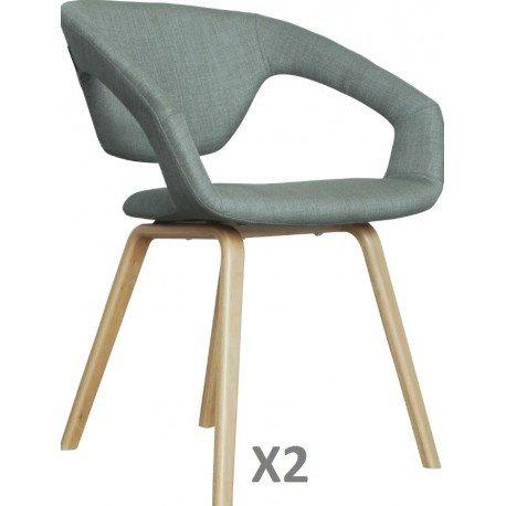 Zuiver flexibler Desinger Stuhl FLEX BACK Dunkelgrau