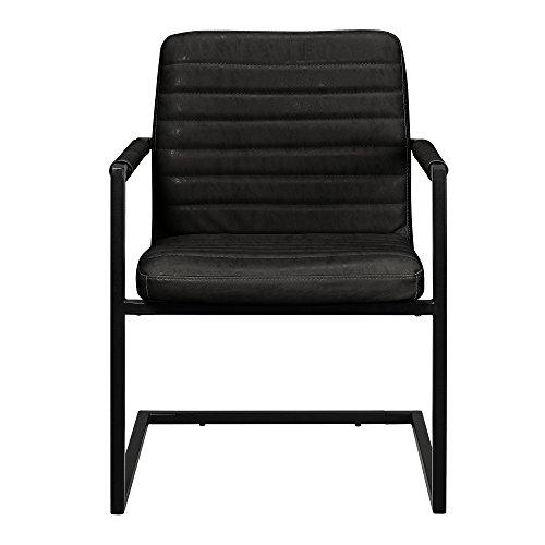 esstisch eiche natur mit 6 st hlen freischwinger. Black Bedroom Furniture Sets. Home Design Ideas