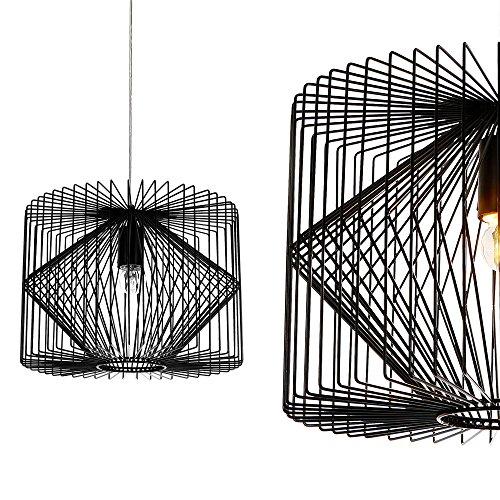 deckenleuchte schwarz metall pendelleuchte. Black Bedroom Furniture Sets. Home Design Ideas