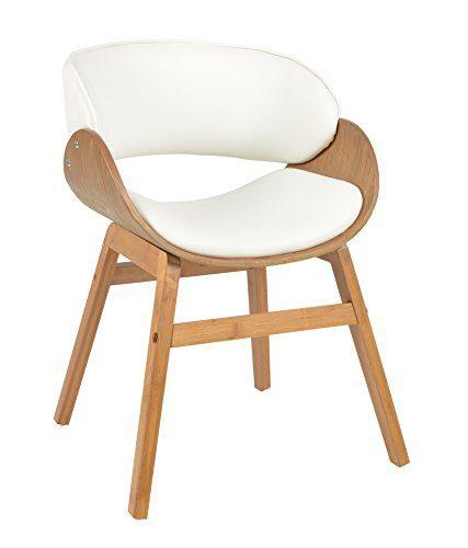 ts ideen 1x design club sessel esstisch k chen esszimmer stuhl sitz in wei holz. Black Bedroom Furniture Sets. Home Design Ideas