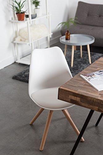 zuiver 2 x tryck chair weiss zum setpreis 1100278 massives buchen holzgestell natur mit. Black Bedroom Furniture Sets. Home Design Ideas