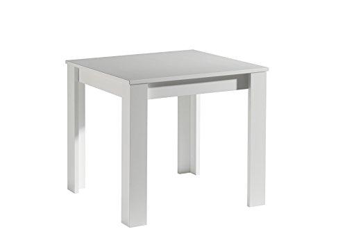0545/80 Esszimmertisch Küchentisch Speisezimmer Tisch Action ZIP 80 x 80 cm Weiss