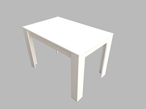 Esstisch Esszimmertisch Küchentisch 110 x 70 cm Weiß Tisch