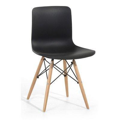 Sessel Schwarz - Stuhl - Esszimmerstuhl - Küchenstuhl - Hochlehner - Essstuhl - SOHO