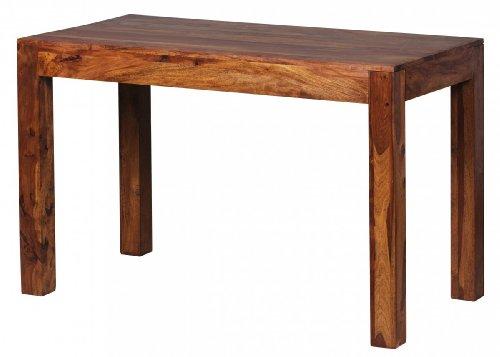 wohnling design esstisch massiv 120 x 60 x 76 cm sheesham massivholz esszimmerst. Black Bedroom Furniture Sets. Home Design Ideas