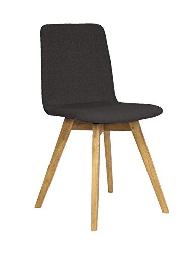 designbotschaft: Pure - Stuhl Anthrazit - Esszimmerstühle 1 Stck