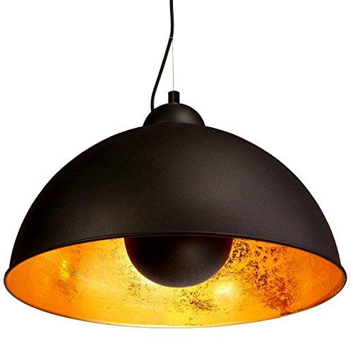 BUTLERS SATELLIGHT Deckenleuchte schwarz/gold
