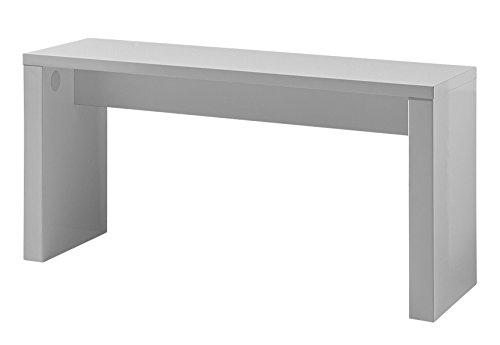 Germania 3378-84 Sitzbank GW-Chicago, 90 x 46 x 35 cm, weiß