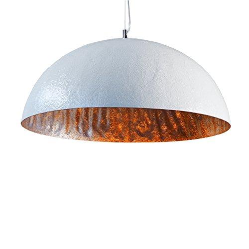 Invicta Interior Glow Stylische Hängeleuchte weiß silber 50cm