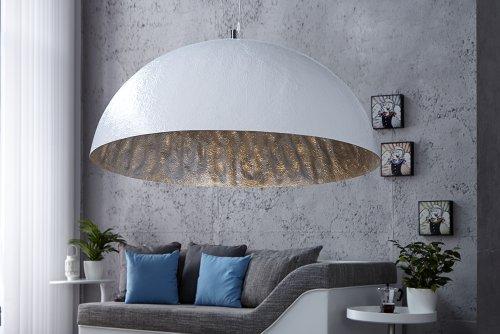 Invicta Interior Glow Stylische Hängeleuchte weiss silber 70cm