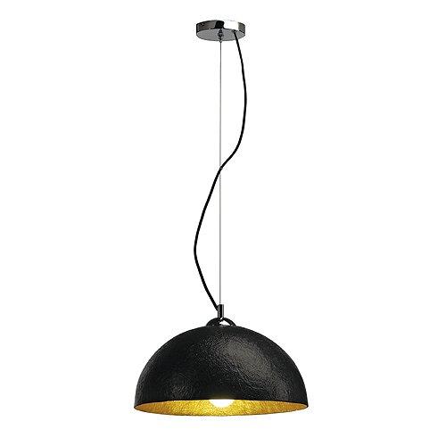 Pendelleuchte Forchini 38 cm schwarz/gold