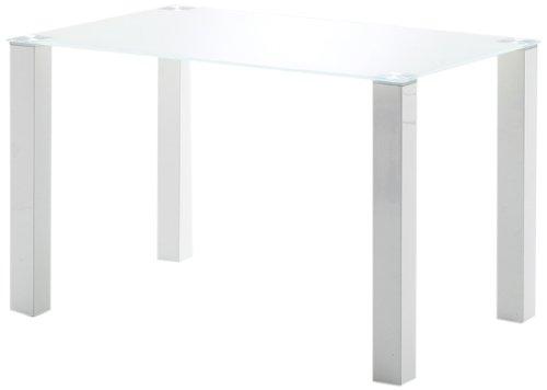 Robas Lund Vierfußtisch Hanna, 120 x 76 x 80 cm, weiß, HA12HWGW
