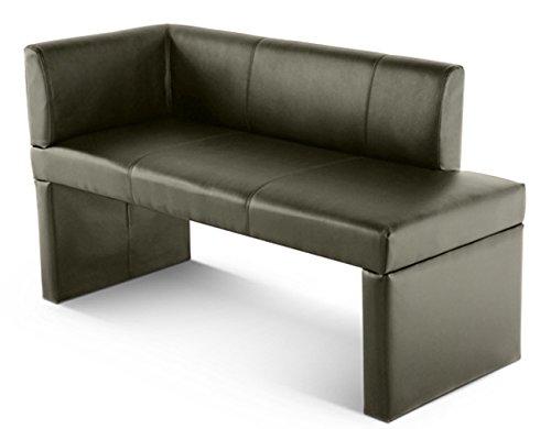 sam ottomane recamiere malena i 130 cm in hellgrau sitzbank komplett bezogen angenehme. Black Bedroom Furniture Sets. Home Design Ideas