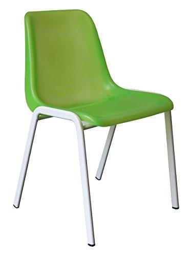 designer besucherstuhl esszimmerstuhl praxisstuhl st hle weiss pink gr n blau orange lila. Black Bedroom Furniture Sets. Home Design Ideas