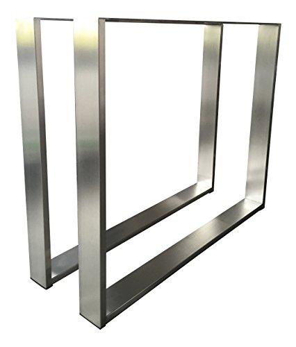 Design tischgestell edelstahl tug 403 tischuntergestell for Design tischgestell