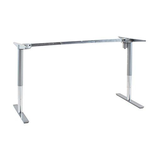 Ergobasis elektrisches Tischgestell Inno-Serie 1 Functional MEMORY, silber