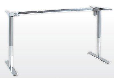 Ergobasis elektrisches Tischgestell Inno-Serie 1 Functional, silber