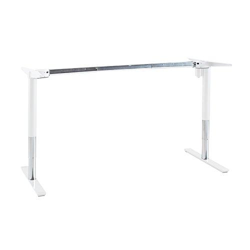 Ergobasis elektrisches Tischgestell Inno-Serie 1 Functional, weiß