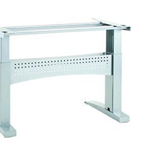 Ergobasis elektrisches Tischgestell Inno-Serie 10 Supreme, Breite 116 cm, silber