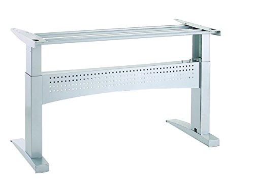 Ergobasis elektrisches Tischgestell Inno-Serie 10 Supreme, Breite 156 cm, silber