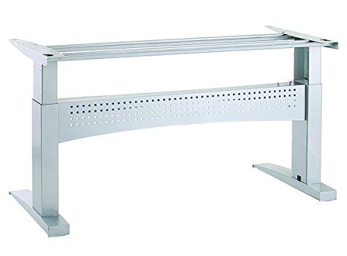 Ergobasis elektrisches Tischgestell Inno-Serie 10 Supreme, Breite 196 cm, silber