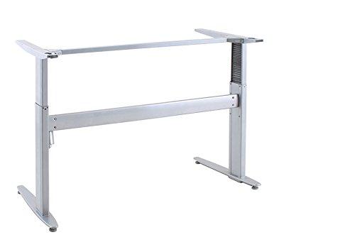 Ergobasis elektrisches Tischgestell Inno-Serie 2 Basic, Breite 133 cm, silber