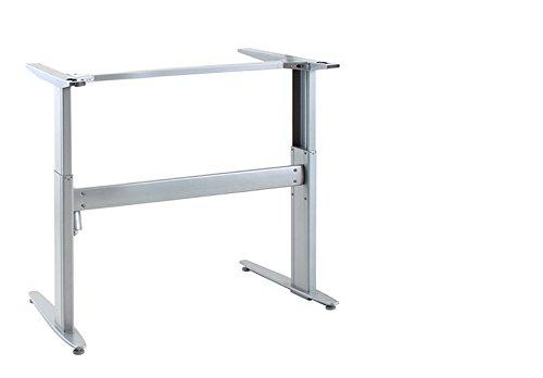 Ergobasis elektrisches Tischgestell Inno-Serie 2 Basic, Breite 84 cm, silber