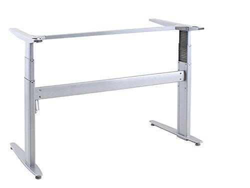 Ergobasis elektrisches Tischgestell Inno-Serie 3 Strong, Breite 133 cm, silber