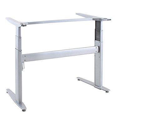 Ergobasis elektrisches Tischgestell Inno-Serie 3 Strong, Breite 84 cm, silber