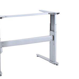 Ergobasis elektrisches Tischgestell Inno-Serie 4 Stuart, Breite 84 cm, silber
