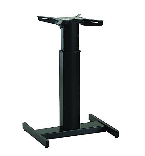 Ergobasis elektrisches Tischgestell Inno-Serie 9 Center MEMORY inkl. Rollen und Akku, schwarz